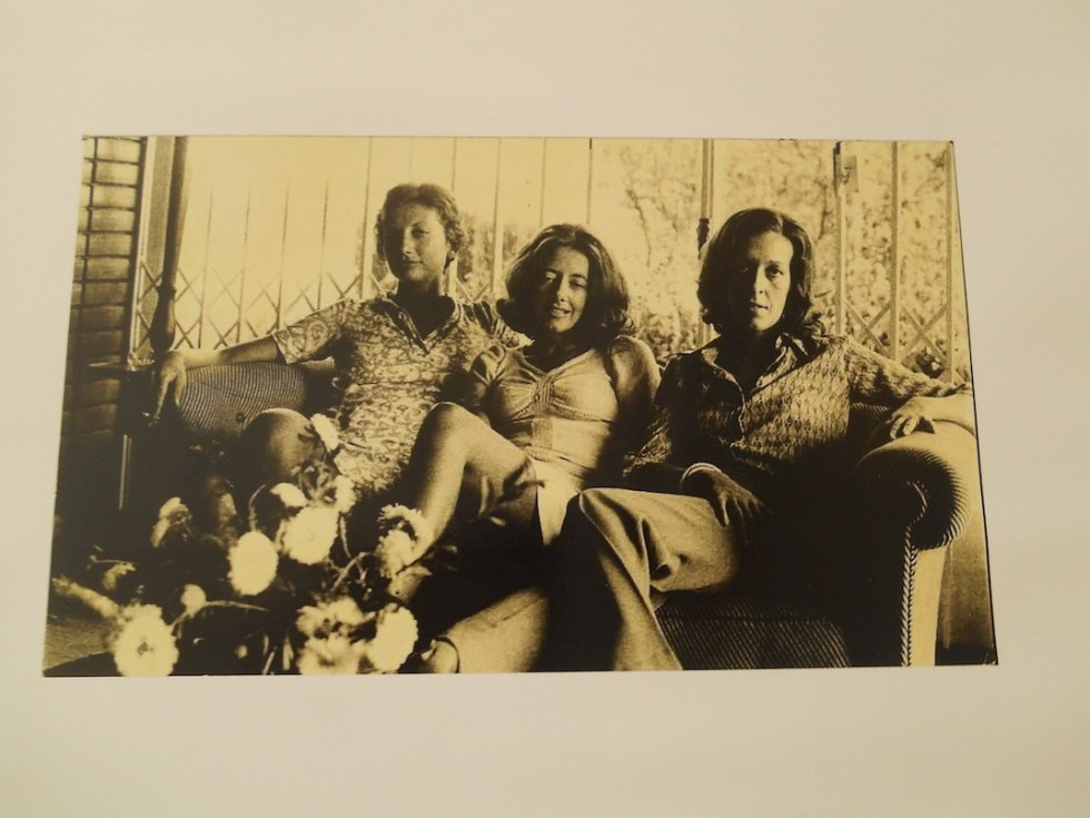 The Three Marias in 1974 (Maria Isabel Barreno, Maria Teresa Horta and Maria Velho da Costa), whose ground-breaking work, New Portuguese Letters, was banned by the authorities