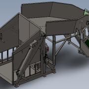 dumper with chute platform