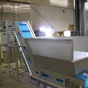 conveyor hopper