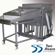 dumper and table