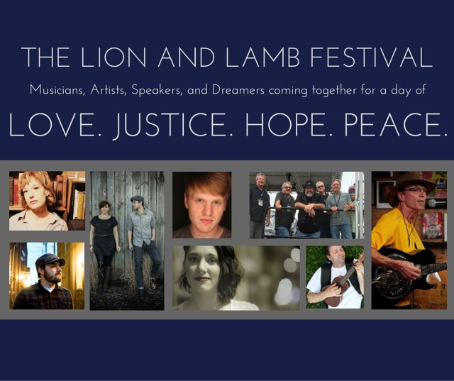 Music lineup for Lion and Lamb Festival