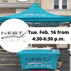 NEST Cafe popping up at Two Rivers again