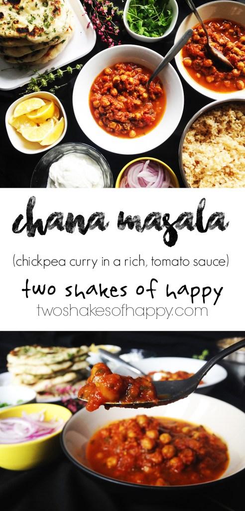 Chana Masala | Two Shakes of Happy