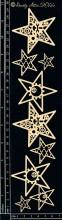 Industrial Stars Embellishments by Dusty Attic