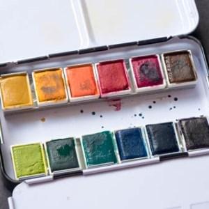 Watercolour Ink & Pans