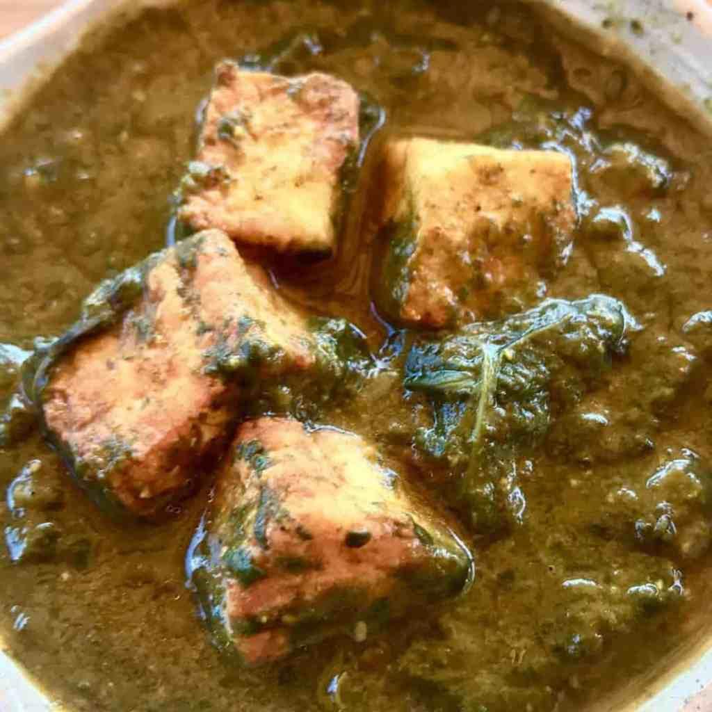 FullSizeRender 25 1024x1024 - Pressure Cooker Palak Paneer, Indian Spinach - https://twosleevers.com