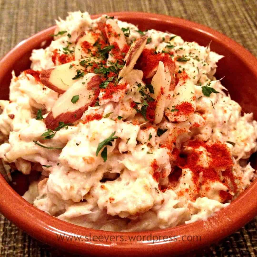 Meal ideas curry fish salad with leftovers for Leftover fish recipes