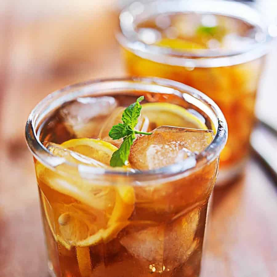 instant pot iced tea two sleevers