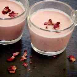 Instant Pot Rose Milk Indian Gulabi Doodh