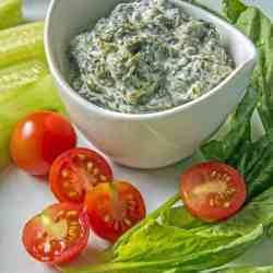 Borani Persian Yogurt Spinach Dip