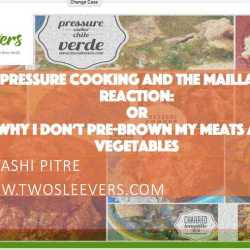 Pressure Cooking and the Maillard Reaction