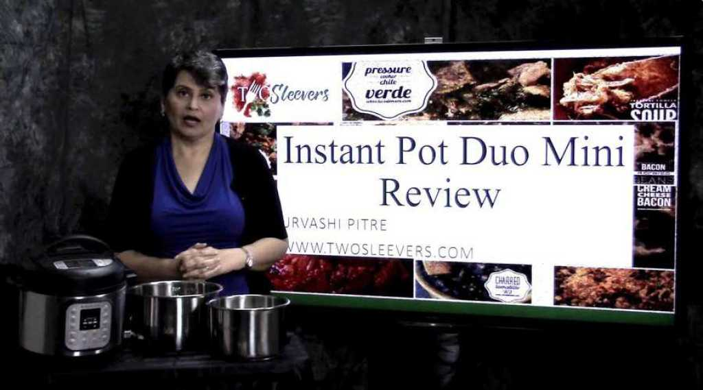 Thumbnail for video review of IP mini duo 1024x569 - VIDEO: Unbiased Instant Pot Mini Duo Review - https://twosleevers.com