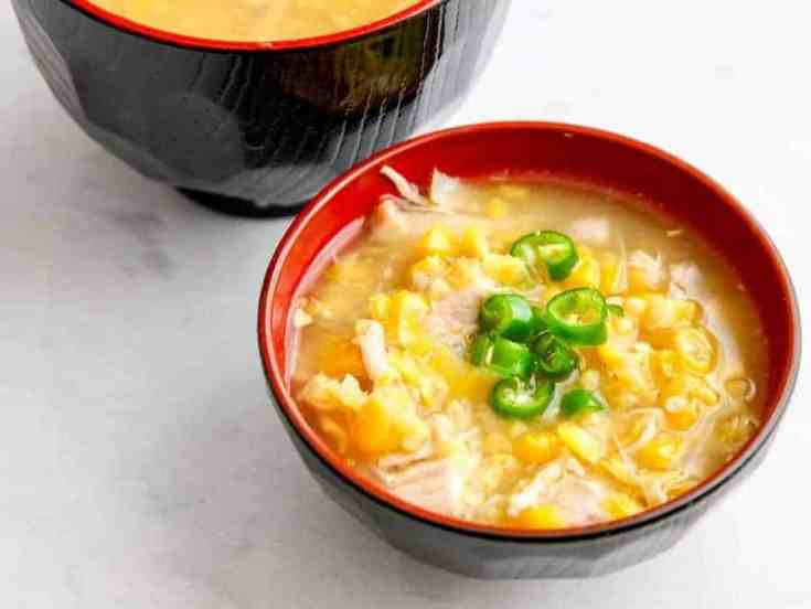 Instant Pot Sweet Corn Chicken Soup
