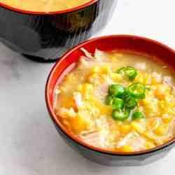 Pressure Cooker Sweet Corn Chicken Soup