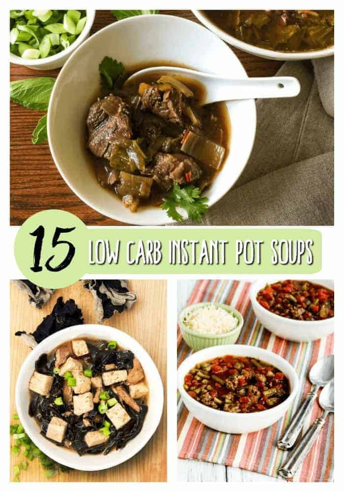 15 Delicious Instant Pot Low Carb Soups Two Sleevers