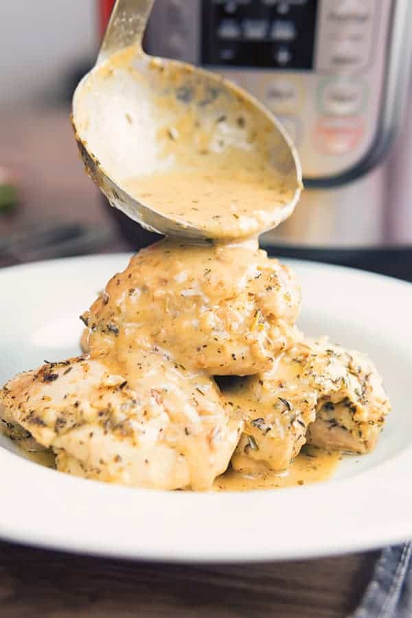 Low-carb French Garlic Chicken