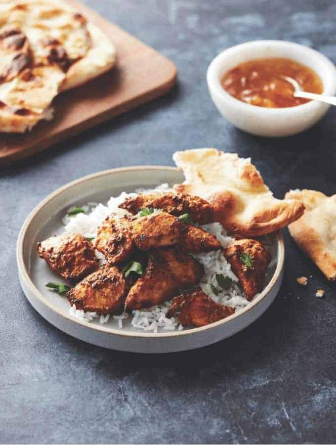 Keto Air Fryer Tandoori Chicken