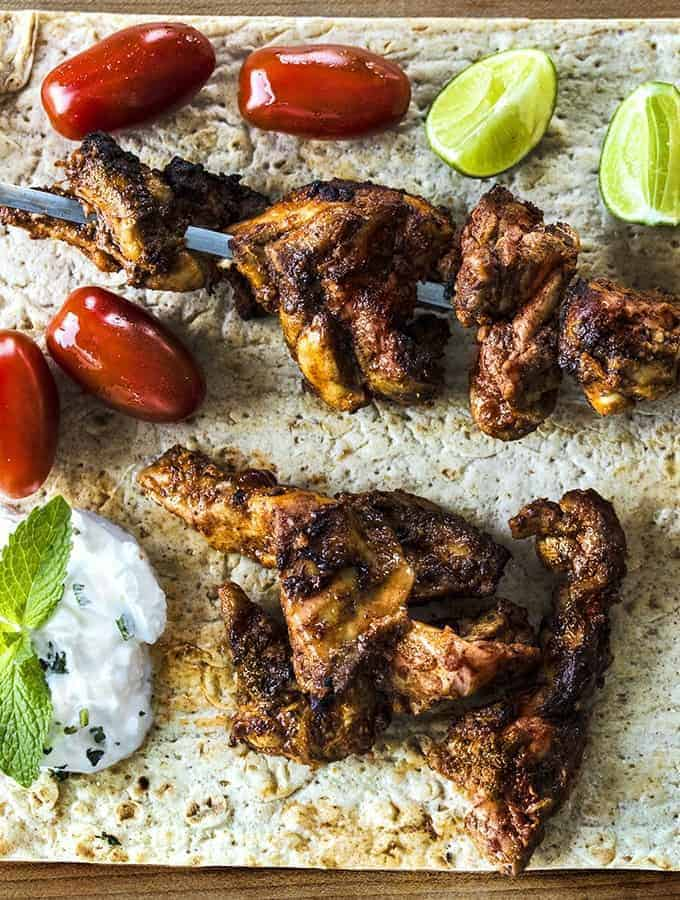 Air Fryer Turkish Chicken Kabab Tavuk Shish