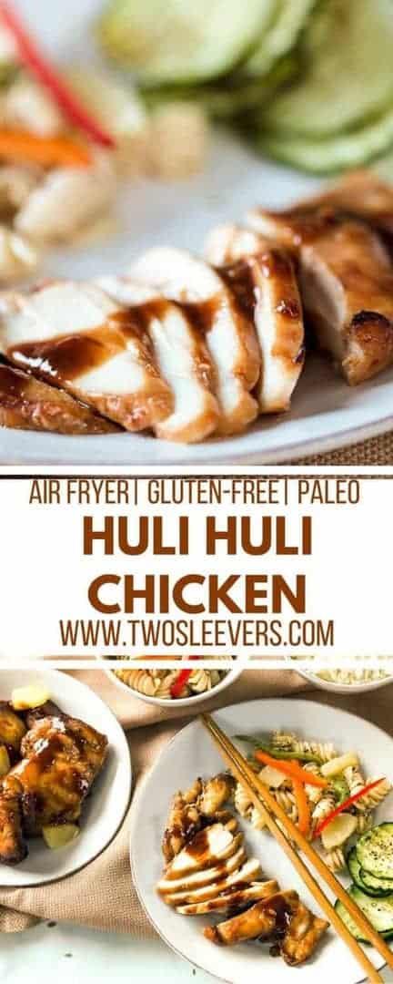 Huli Huli Chicken | Hawaiian Chicken Recipe | Huli Huli Chicken Recipe | Tropical Chicken Recipe | Pineapple Chicken Recipe | Pineapple Barbecue Chicken | Two Sleevers #hawaiianbarbecue #airfryerrecipe #hulihulichicken