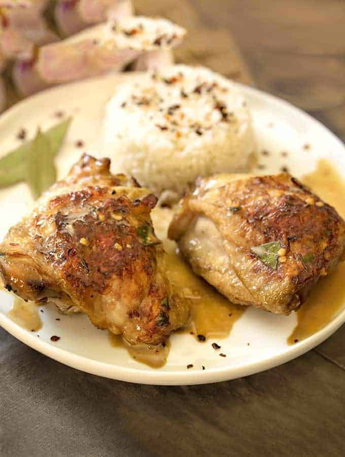 Instant Pot Chicken Adobo | Filipino Chicken Adobo