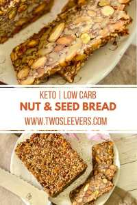 Low Carb Nut and Seed bread PINTEREST