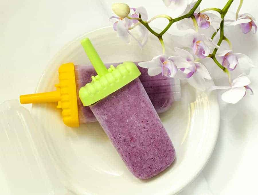 Mixed Berry Popsicles