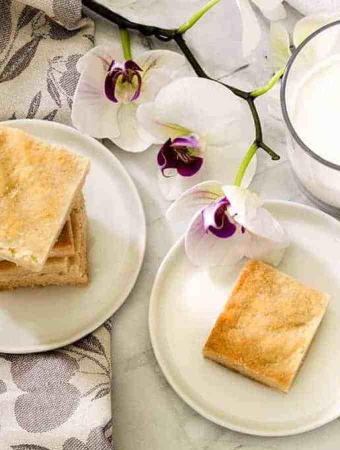 Keto Almond Shortbread