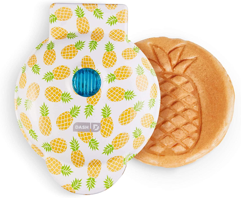 dash pineapple waffle maker