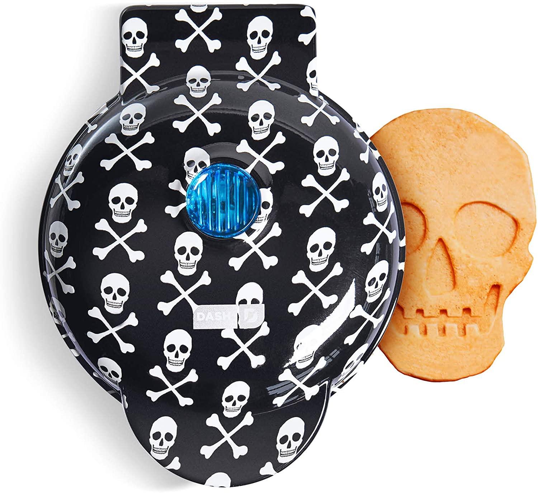 dash skull waffle maker