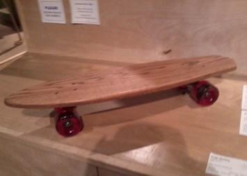 handmade skateboard