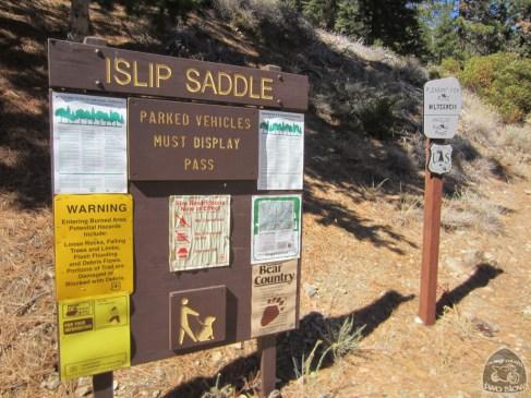 the infamous Islip Saddle