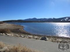 across the lake to Bear Mountain area