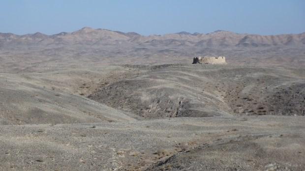 Old gun emplacements at Xingxing Xia