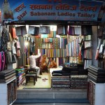 Fabric store near the Boudha Stupa