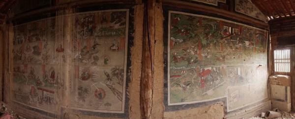 guanyin miao panorama w guangong