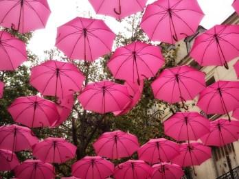Umbrellas in Saumur