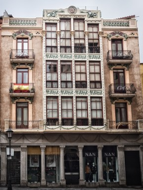 """One of the many ornate and beautiful properties in the town... """"wedding cake"""" buildings"""
