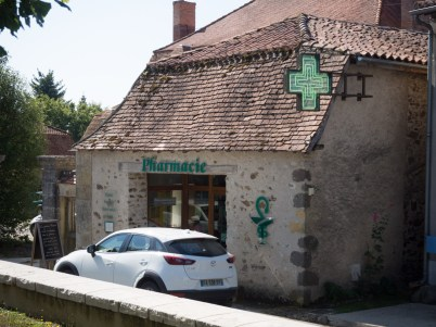 the Pharmacy is housed in a wonderful old building