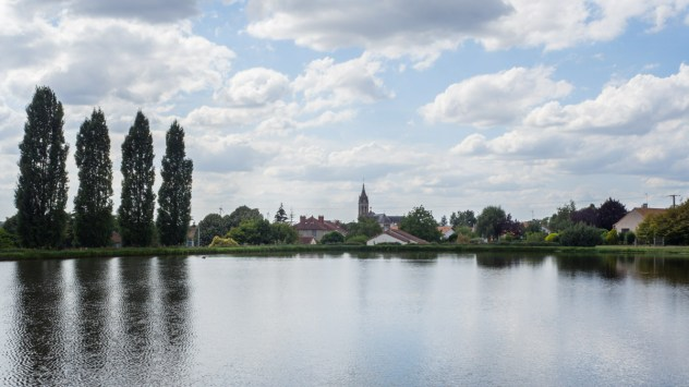 The Plan d'Eau offers a little haven of peace and quiet