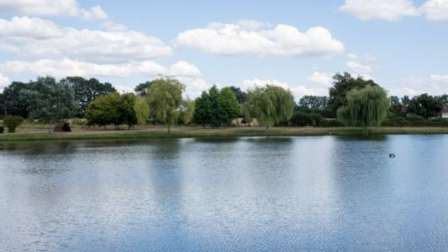 The Plan d'Eau offers fishing