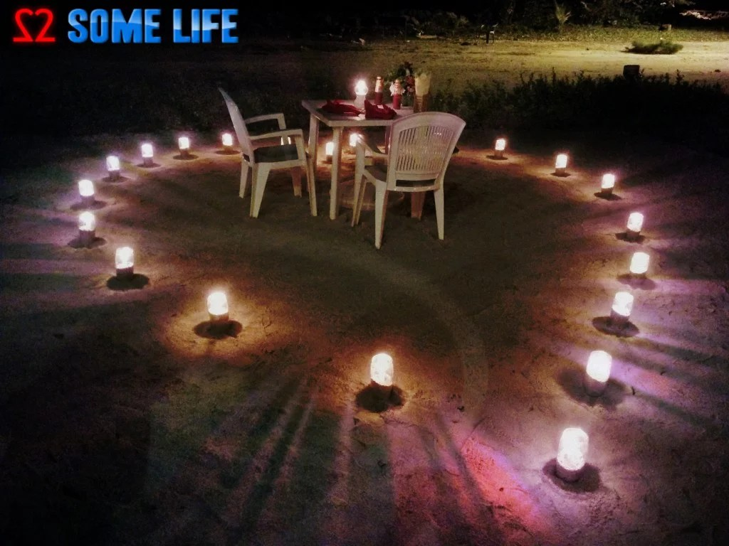 Maldives Diaries – A Surprise Beach Side Candle light Dinner