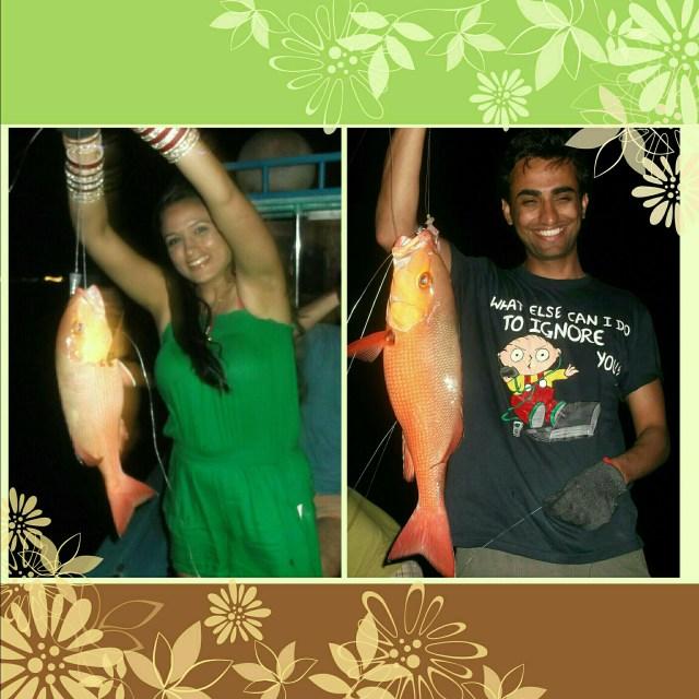 Maldives night fishing 7