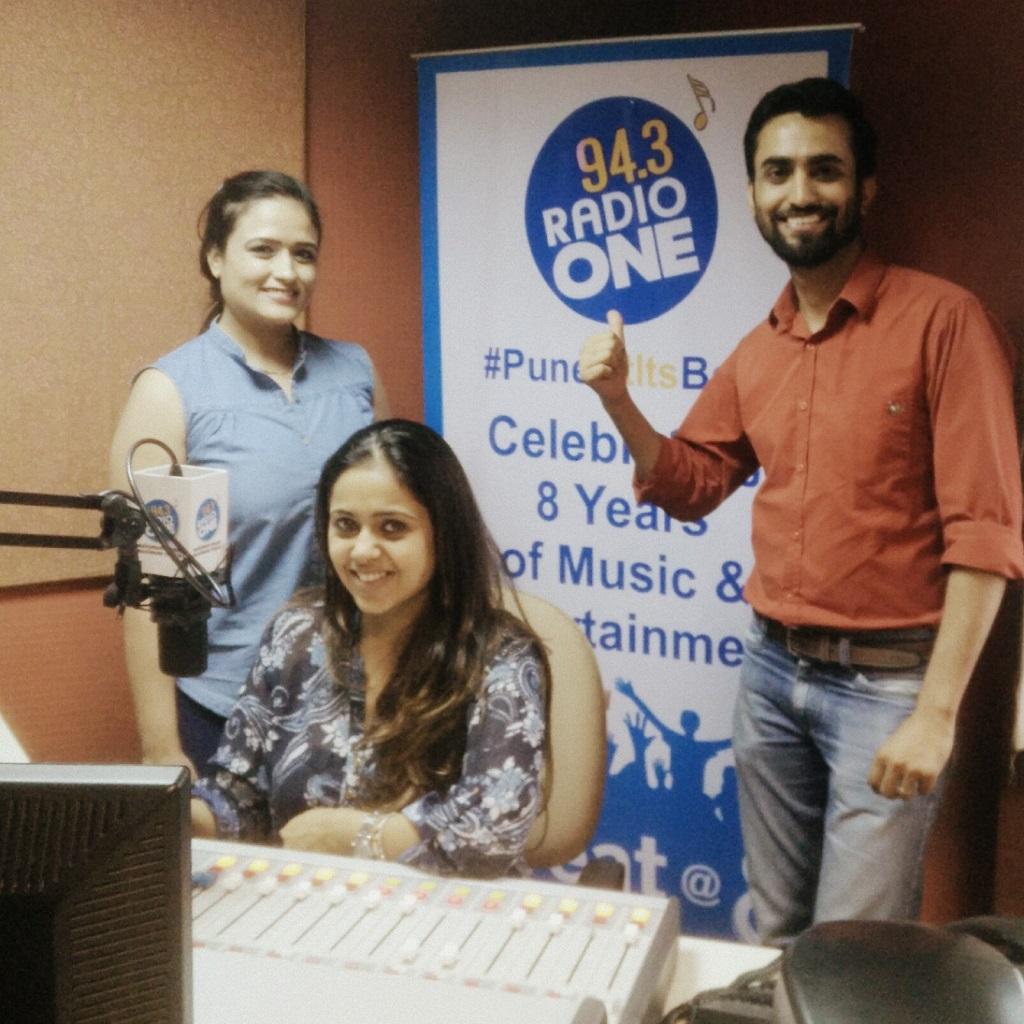 Our Visit to Radio One Studio Pune