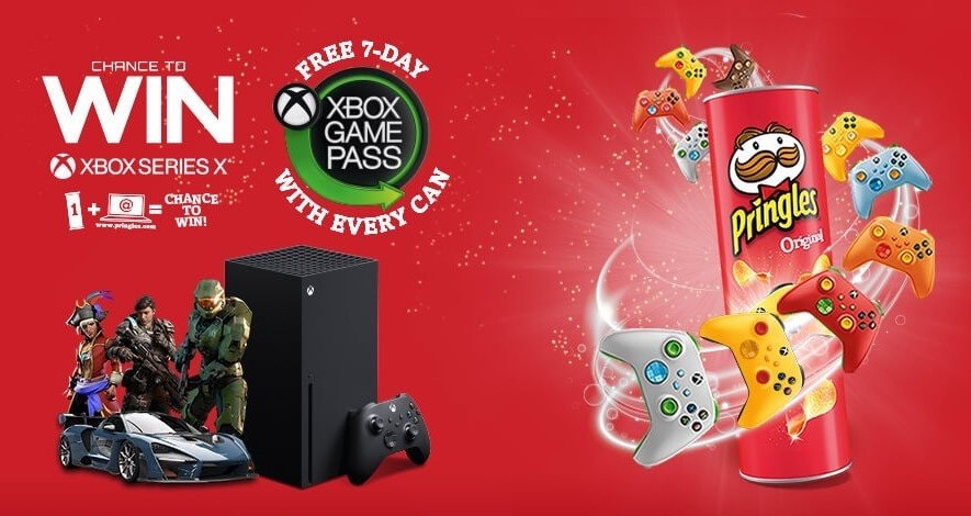 Xbox Partners With Pringles UK For Series X, Game Pass Giveaways