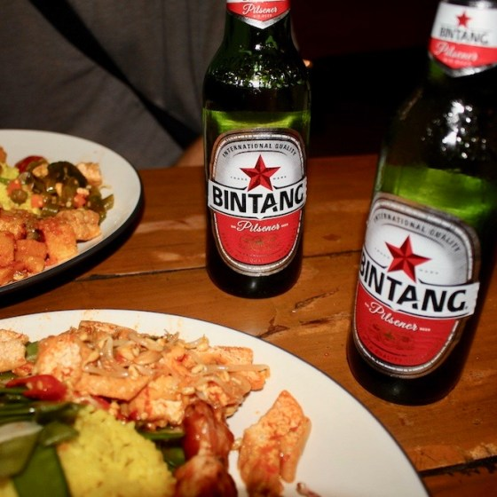 Bintangs and food