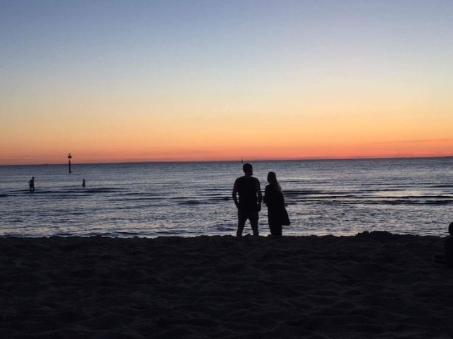 Me-and-Lorna-sunset-Best-free-things-to-do-in-Melbourne-Two-Souls-One-Path
