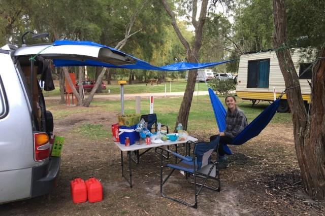 Cann River Rainforest Campsite Australia