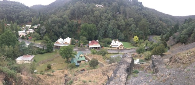 View over Walhalla Ghost town