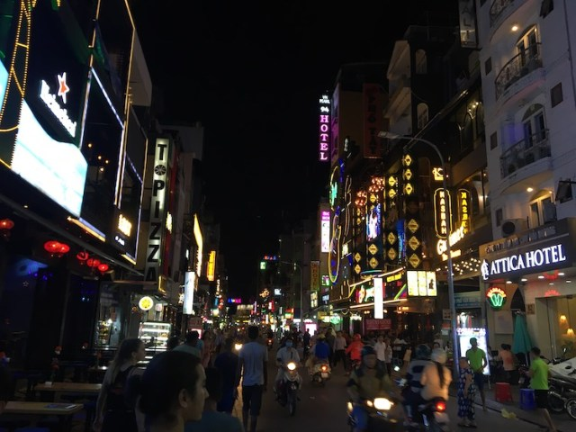 Walking Street Ho Chi Minh