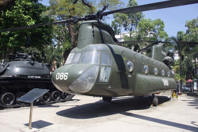 Best things to do in Ho Chi Minh Helicopter at War Museum